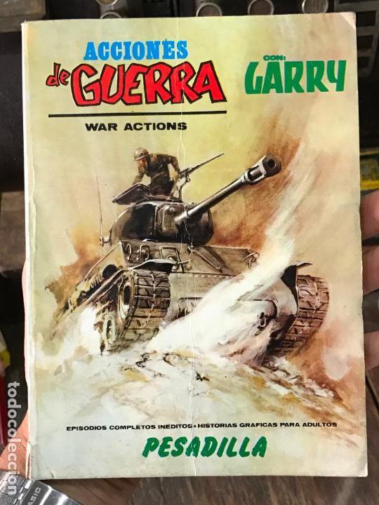 ACCIONES DE GUERRA VOL. 1 Nº 13: PESADILLA / VÉRTICE (Tebeos y Comics - Vértice - Otros)