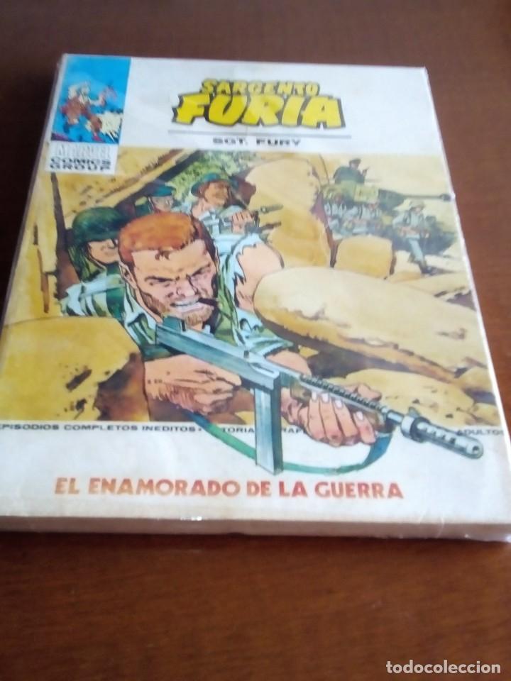 SARGENTO FURIA N 23 (Tebeos y Comics - Vértice - Furia)