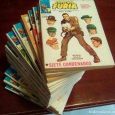Cómics: VERTICE - SARGENTO FURIA - COLECCION COMPLETA 27 NUMEROS - VOLUMEN.1. Lote 68429561
