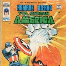 Cómics: COMIC VERTICE 1978 LOS INSUPERABLES VOL1 Nº 8 HOMBRE DE HIERRO Y CAPITAN AMERICA. Lote 68435533