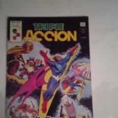 Cómics: TRIPLE ACCION - VERTICE - VOLUMEN 1 - NUMERO 17- BE - CJ 77 - GORBAUD. Lote 68885385