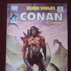Comics: RELATOS SALVAJES Nº 47. CONAN EL BARBARO ¡LA GUERRA DE LOS BRUJOS! VERTICE 1977 TEBENI . Lote 68966729