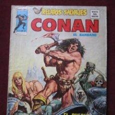 Comics: RELATOS SALVAJES Nº 43 CONAN EL BARBARO. EL PUEBLO DEL ORACULO NEGRO VERTICE 1977 TEBENI . Lote 69296493