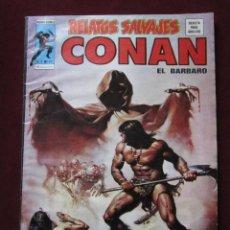 Cómics: RELATOS SALVAJES Nº 39 CONAN EL BARBARO. LOS FANTASMAS DEL CASTILLO CARMESI VERTICE 1976 TEBENI MBE. Lote 69297457