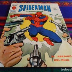 Cómics: VÉRTICE VOL. 3 SPIDERMAN Nº 19. 35 PTS. 1976. EL ASESINO DEL RING. MBE.. Lote 69597853