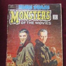 Cómics: RELATOS SALVAJES 26 MONSTERS OF THE MOVIES. PETER CUSHING VERTICE 1976 TEBENI . Lote 69691965