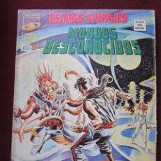 Cómics: RELATOS SALVAJES Nº 21. MUNDOS DESCONOCIDOS. RICHARD CORBEN, BRUCE JONES, KIRBY VERTICE.1975 TEBENI. Lote 69693697