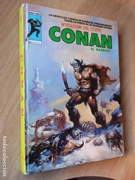 CONAN, EL BARBARO - ED MUNDI-COMIC - VÉRTICE- TOMO Nº 3 (Tebeos y Comics - Vértice - Conan)