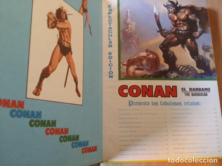 Cómics: CONAN, EL BARBARO - ED MUNDI-COMIC - VÉRTICE- TOMO Nº 3 - Foto 2 - 69944389