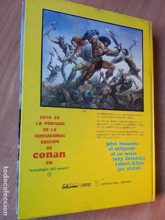 Cómics: CONAN, EL BARBARO - ED MUNDI-COMIC - VÉRTICE- TOMO Nº 3 - Foto 4 - 69944389