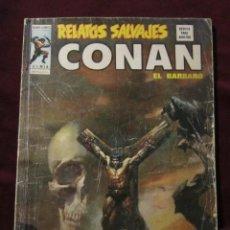 Cómics: RELATOS SALVAJES Nº 14. CONAN EL BARBARO. ¡NACERÁ UNA BRUJA! VERTICE 1975 TEBENI DIFICIL. Lote 80581092