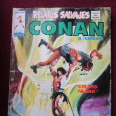 Cómics: RELATOS SALVAJES Nº 8. CONAN EL BARBARO ¡KING KULL-BLACKMARK! VERTICE 1975 TEBENI. Lote 70043085