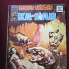 Cómics: RELATOS SALVAJES Nº 6. KA-ZAR ¡LA PLAGA DE LA CONDENA! KAZAR VERTICE 1975 TEBENI BASTANTE BUENO. Lote 70043489