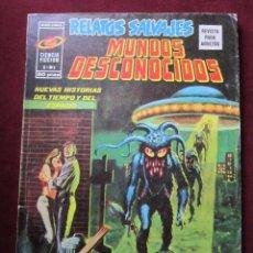 Cómics: RELATOS SALVAJES Nº 3. MUNDOS DESCOCIDOS. ENTREVISTA RAY BRADBURY VERTICE 1975 TEBENI . Lote 70043805