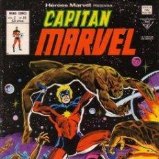 Cómics: HÉROES MARVEL VOL.2 Nº 59 - VÉRTICE. CAPITAN MARVEL.. Lote 70171129