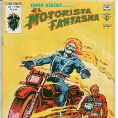 Cómics: EL MOTORISTA FANTASMA. EL FIN DE UN CAMPEON – N.º 128 – SUPER HEROES V.2 VERTICE 1974 - IMPECABLE. Lote 70258301