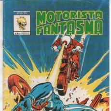 Cómics: MOTORISTA FANTASMA . LA BRUJA DE CONDENA– N.º 4 – 1981 VERTICE – BUENO. Lote 70261757