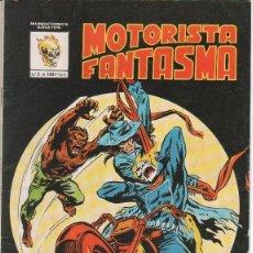 Cómics: MOTORISTA FANTASMA .CONTACTO DE TERROR– N.º 5 – 1981 VERTICE – BUENO. Lote 70261785