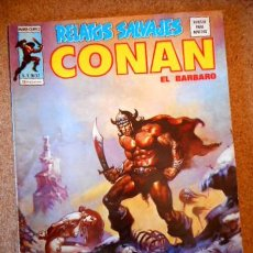 Comics: RELATOS SALVAJES VOL.1 Nº 37 CONAN EL BÁRBARO. Lote 70536197