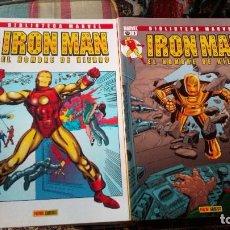 Cómics: BIBLIOTECA MARVEL IRON MAN DEL 1 AL 14. Lote 71435411