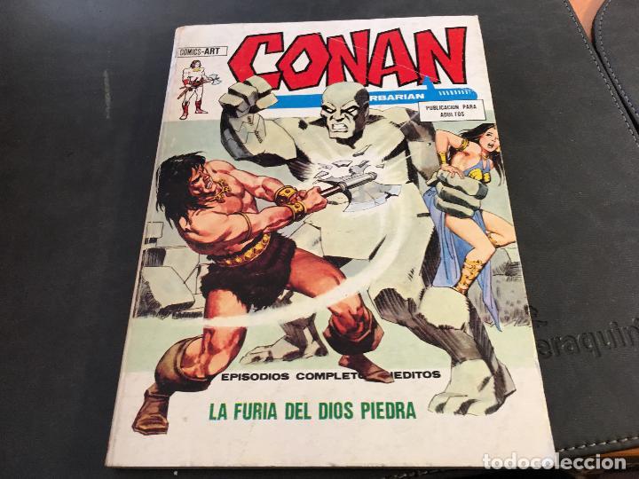 Cómics: CONAN LOTE COLECCION COMPLETA DEL 1 AL 18. TACO MUY BUEN ESTADO VERTICE VOL 1 (COI26) - Foto 3 - 71501955