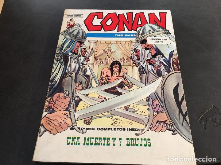 Cómics: CONAN LOTE COLECCION COMPLETA DEL 1 AL 18. TACO MUY BUEN ESTADO VERTICE VOL 1 (COI26) - Foto 7 - 71501955