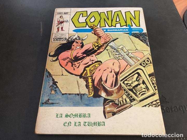 Cómics: CONAN LOTE COLECCION COMPLETA DEL 1 AL 18. TACO MUY BUEN ESTADO VERTICE VOL 1 (COI26) - Foto 11 - 71501955