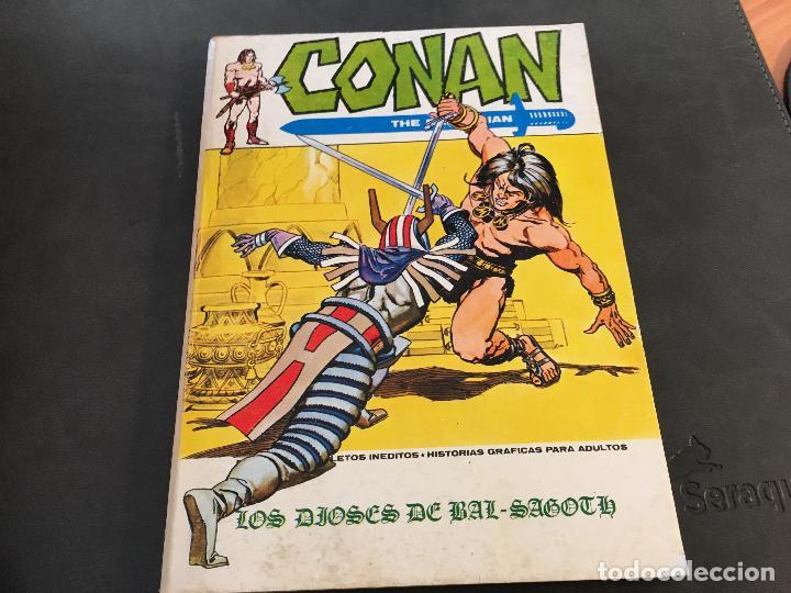 Cómics: CONAN LOTE COLECCION COMPLETA DEL 1 AL 18. TACO MUY BUEN ESTADO VERTICE VOL 1 (COI26) - Foto 40 - 71501955