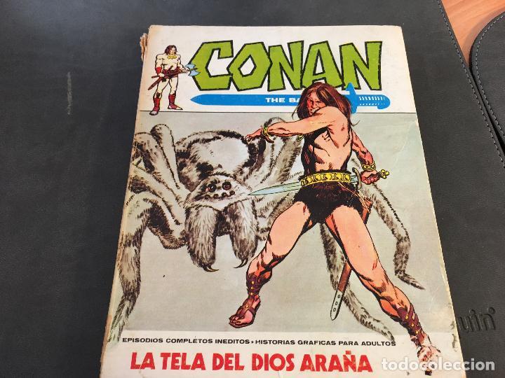 Cómics: CONAN LOTE COLECCION COMPLETA DEL 1 AL 18. TACO MUY BUEN ESTADO VERTICE VOL 1 (COI26) - Foto 48 - 71501955