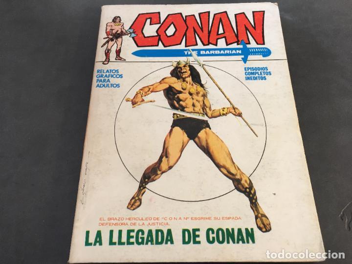 Cómics: CONAN LOTE COLECCION COMPLETA DEL 1 AL 18. TACO MUY BUEN ESTADO VERTICE VOL 1 (COI26) - Foto 75 - 71501955