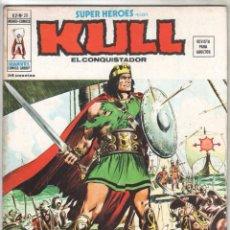 Cómics: SUPER HEROES V - 2 Nº 20 PRESENTA - KULL EL CONQUISTADOR - BIEN CONSERVADO - VÉRTICE 1975. Lote 71616759