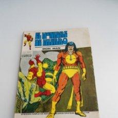 Cómics: 27 EL HOMBRE DE HIERRO . IRON MAN - RAGA, EL HIJO DEL FUEGO - EDICIONES INTERNACIONALES VERTICE 1973. Lote 71622959
