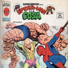 Cómics: COMIC VERTICE 1977 SUPER HEROES VOL2 Nº 61 SPIDERMAN Y LA COSA BUEN ESTADO. Lote 71640219