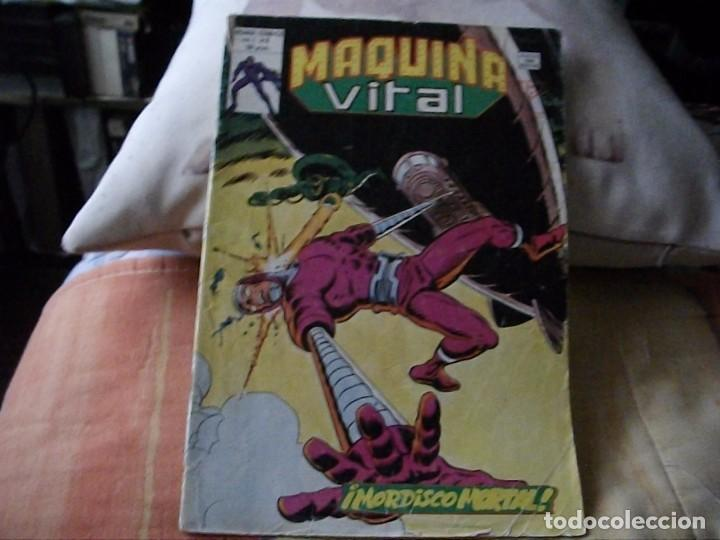 COMICS - MAQUINA VITAL - EL DE LAS FOTOS - VER TODOS MIS LOTES DE TEBEOS (Tebeos y Comics - Vértice - Surco / Mundi-Comic)