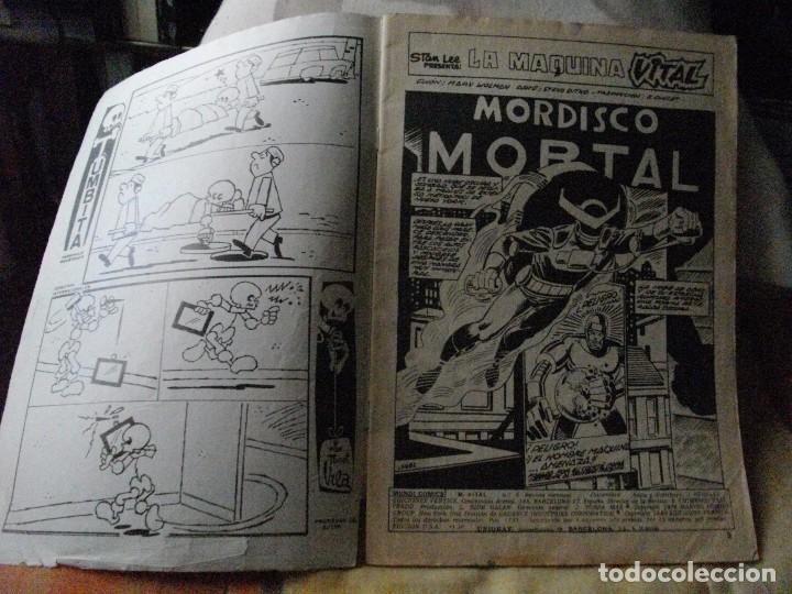 Cómics: COMICS - MAQUINA VITAL - EL DE LAS FOTOS - VER TODOS MIS LOTES DE TEBEOS - Foto 2 - 71705383