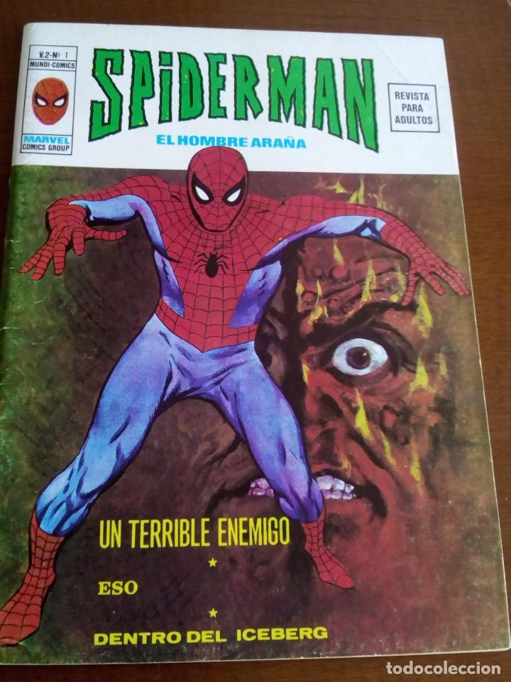 SPIDERMAN VOL. 2 COMPLETA BUEN ESTADO (Tebeos y Comics - Vértice - V.2)