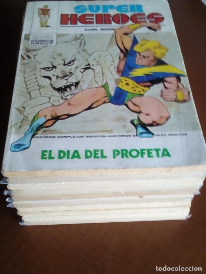 SUPER HEROES COLECCION COMPLETA N 1 AL 10 (Tebeos y Comics - Vértice - Super Héroes)