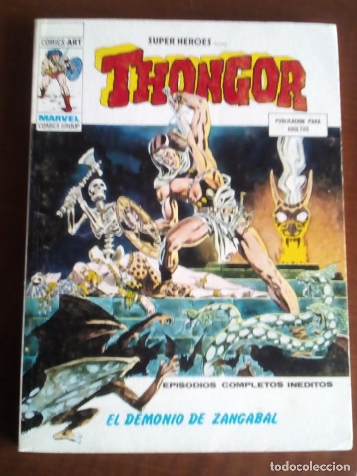 Cómics: SUPER HEROES COLECCION COMPLETA n 1 al 10 - Foto 19 - 71907999