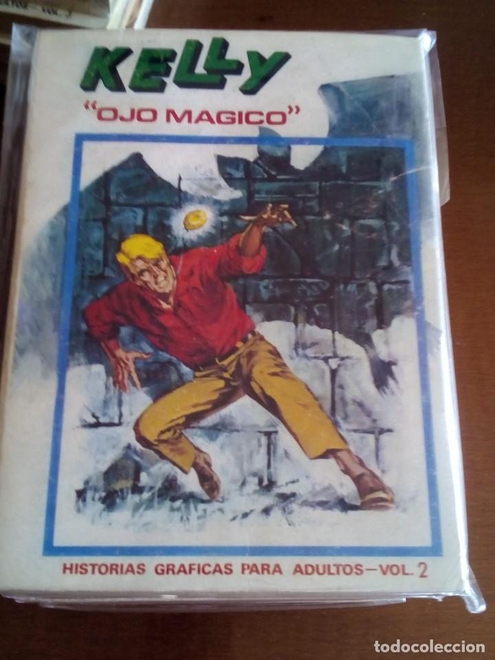 Cómics: KELLY OJO MAGICO 1 AL 7 COMPLETA - Foto 2 - 72029299