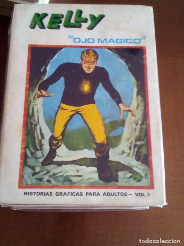 Cómics: KELLY OJO MAGICO 1 AL 7 COMPLETA - Foto 3 - 72029299
