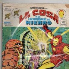 Cómics: COMIC VERTICE 1976 SUPER HEROES VOL2 Nº 47 LA COSA Y EL HOMBRE DE HIERRO LEER. Lote 72142767