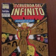 Cómics: LA CRUZADA DEL INFINITO - NÚMERO 1 DE 11 - FORUM. Lote 72148403