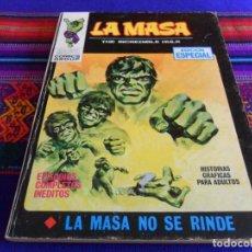 Cómics: VÉRTICE VOL. 1 LA MASA Nº 5. 1970. 25 PTS. LA MASA NO SE RINDE. MUY BUEN ESTADO.. Lote 72221335