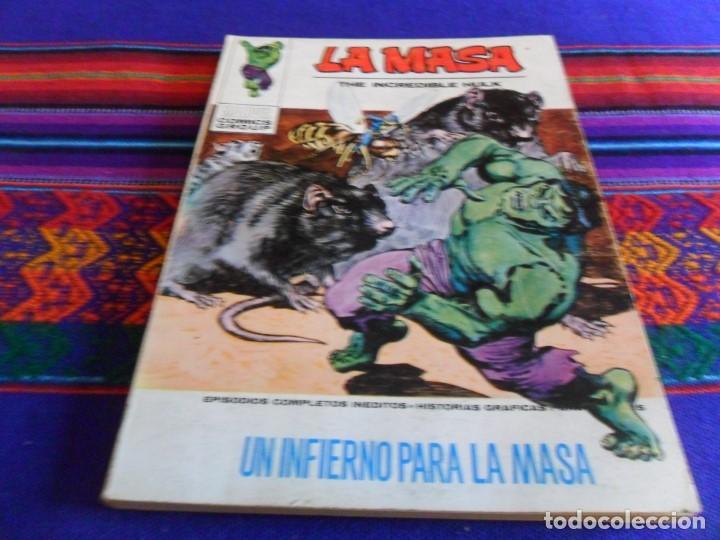 Cómics: VÉRTICE VOL. 1 LA MASA Nº 8 CON NAMOR. 1970. 25 PTS. A MUERTE LOS INHUMANOS. MBE. REGALO Nº 26. - Foto 2 - 72223695