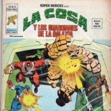 Cómics: COMIC VERTICE 1976 SUPER HEROES VOL2 Nº 42 LA COSA Y LOS GUARDIANES DE LA GALAXIA LEER. Lote 72232071