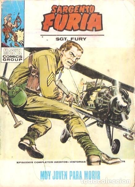 SARGENTO FURIA VOL1 Nº8 (Tebeos y Comics - Vértice - V.1)