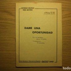 Cómics: AMOR YE-YE,Nº12,1965,ELVIS PRESLEY-DAME UNA OPORTUNIDAD-ED.VÉRTICE-¡¡MUY RARO!!SIN PORTADA-VER FOTOS. Lote 72347759