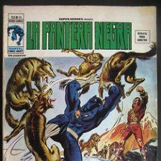 Cómics: MARVEL SUPER HEROES: LA PANTERA NEGRA. LA SANGRE MANCHA LA NIEVE VIRGEN VOL. 2 Nº 39. Lote 72760567