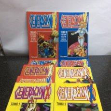 Cómics: GENERACIÓN X , COLECCION COMPLETA 49 EJEMPLARES EN 9 TOMOS. Lote 72886743