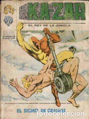KAZAR.VERTICE. VOLUMEN 1. NUMERO 6. EL SIGNO DE GEMINIS (Tebeos y Comics - Vértice - V.1)